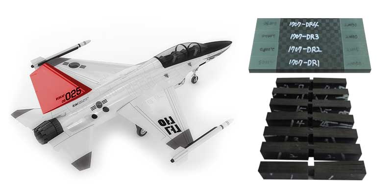 T-50 VS Composite Test Specimen